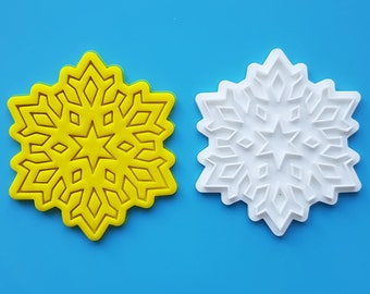 Snowflake 03  Cookie Cutter and Stamp