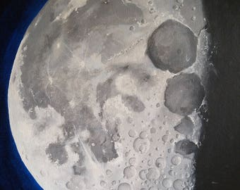 Close up of Moon - Prints Various Sizes