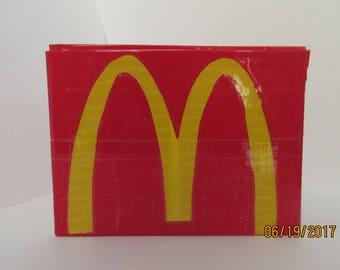 McDonald's Duct Tape Wallet