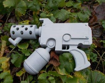 Flamer Pistol Replica 3DFW Pattern | Warhammer 40K inspired | Life Sized | Unofficial