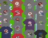 Tecmo Bowl Shirts