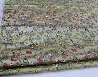 Chinese folklore brocade fabric