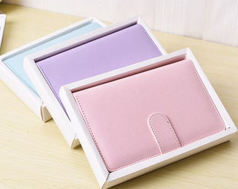 Pastel Planner Notebook A5
