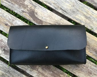 Wallet Clutch in Wickett and Craig Bridle Leather