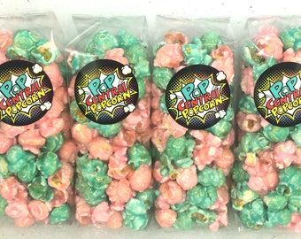 Cotton Candy Popcorn Bags (Set of 20)