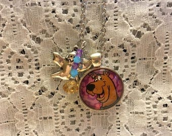 Scooby Doo Charm Necklace/Scooby Doo Gift/Scooby Doo/Scooby Doo Pendant/Scooby Doo Jewelry/Scooby Doo Necklace