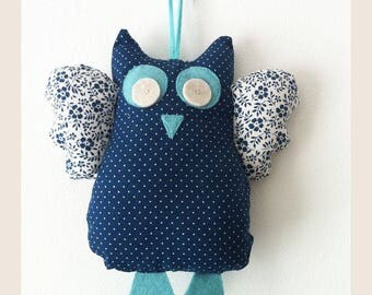 Blue OWL blanket