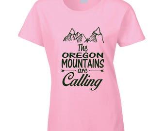 Oregon Mountains T Shirt
