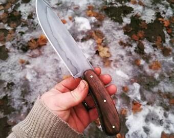 "Handmade Bushcraft Knife - ""Papa"""