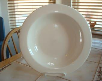 "Vintage Hall White #1993 Large Salad Bowl 11 3/4"""
