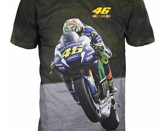 New Ultramodern Valentino Rossi VR46 The Doctor MOTO GP Racing Mens  T-shirt