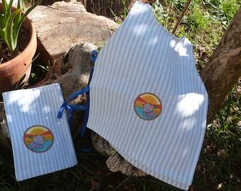 BIRTHSTONE - The double bib BB & pouch