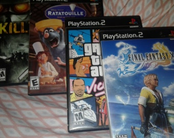 Sony PlayStation 2 Video Game Selections