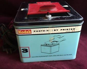 Kodak Photo Hobby printer Model aa