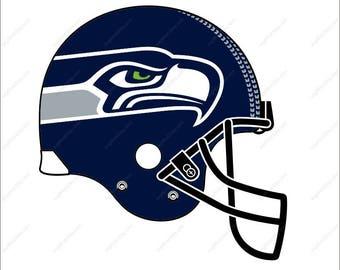 Seattle Seahawks Svg football helmet party Svg Dxf Eps Png Ai Digital File design Print Mug Shirt Decal