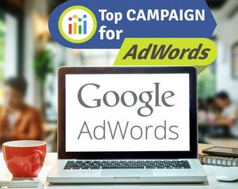 SALE Google Adwords Setup, Google Campaign Setup, Google Adwords Setup