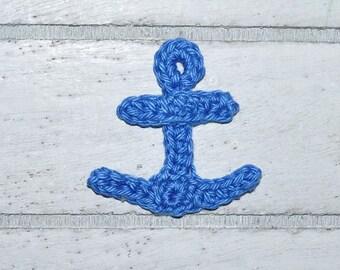 1 anchor small - application - crochet - maritime