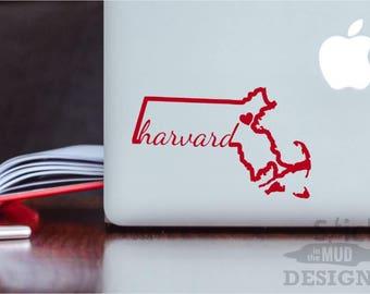 Harvard State Custom & Permanent Vinyl Decal