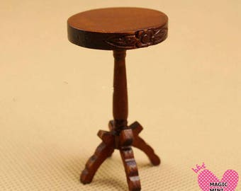 Dolls House Miniature Wine Table