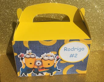 Minnions  Candy Boxes