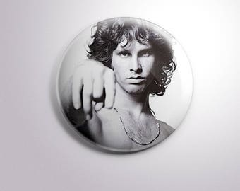 JIM MORRISON The DOORS - pins / buttons / magnets