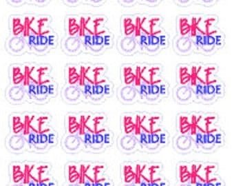 BIKE RIDE // Diary // Planner // Stickers