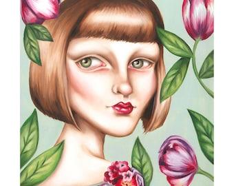Phoebe A4 Print