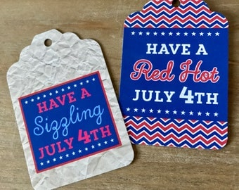 July 4th Tags