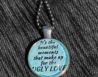Colleen Hoover's Ugly Love and Too Late inspired necklaces