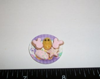 Dollhouse Miniature Handcrafted Easter Cookies ~ Dessert Doll Food 928
