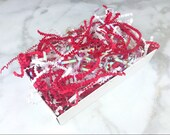 Paper Shred Mix - Christmas/Holidays - Candy Cane Lane - 1/2 lb