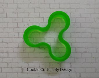 "Fidget Spinner Cookie Cutter (3.5"")"