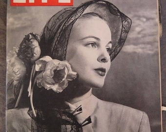 Life Magazine, March 31, 1947 Spring Hats ,U.S. Talks Up Moscow, Price of Steel, Double Knockdowns, Struggle for the World