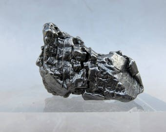 Meteorite Campo del Cielo, with movable part of - sculpture
