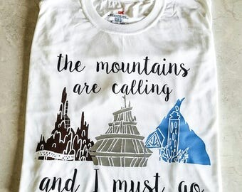 Mountains T-shirt (Youth)