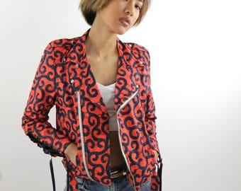 ANKARA PERFECTO, Ankara Wax coat jacket
