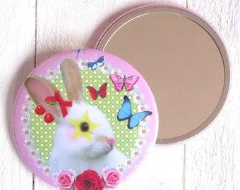 Rabbit Pocket mirror