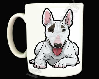 Bull Terrier Mug .. Mugs . English