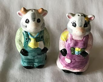 Cow Farmers - Salt and Pepper Shakers