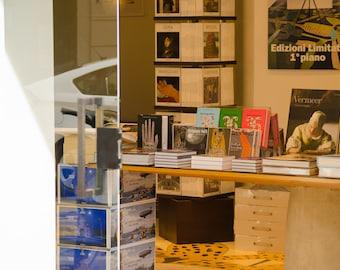 Italian bookstore Italy photography Milan bookshop