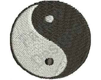 Ying Yang - Machine Embroidery Design