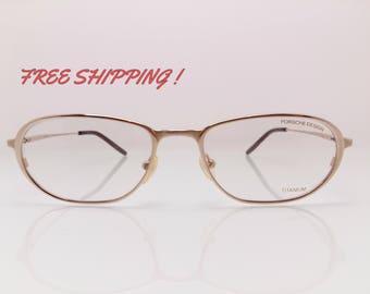 Porsche Design Vision Frame Titanium Vintage Made In Japan Perfect For Reading Glasses Oval Frame