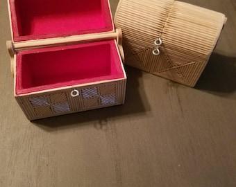 Wedding Ring Box, Toothpick Ring Box, Wedding Gift, Ring Bearer Box, toothpick Box, With This Ring Box