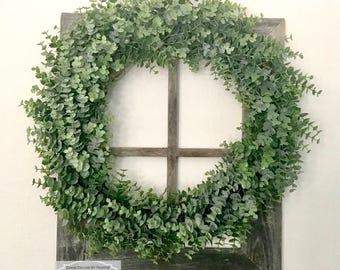 Eucalyptus Wreath ~ Farmhouse ~ Rustic
