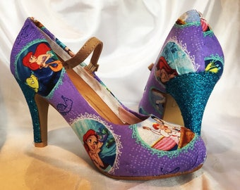 Disney Little Mermaid Shoes - Heels - Mary Janes