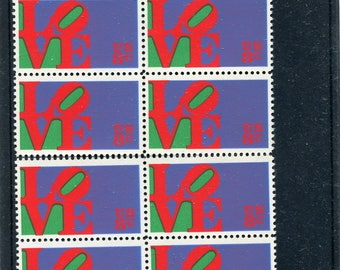 Love Stamps Unused /USA Postage 10 Stamps/LOVE