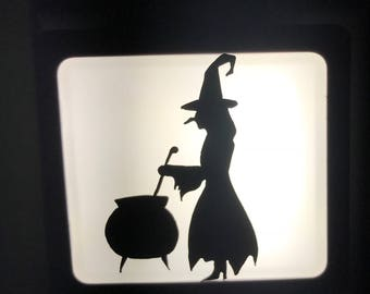 Wicked witch nightlight