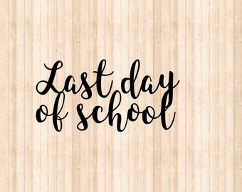 Add on* Last Day for chalkboards!