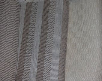 14 COUPONSCARRES STYLE LINEN COTTON BEIGE AND WHITE