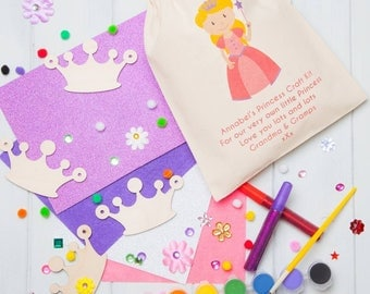 Personalised Make Your Own Crown Bunting Craft Kit
